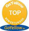 GoYellow Trust Badge - TOP Bewerttungen